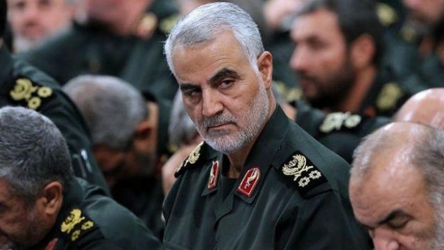 Dowódca sił Quds Generał dywizji Qassem Soleimani w Teheranie w 2016 r