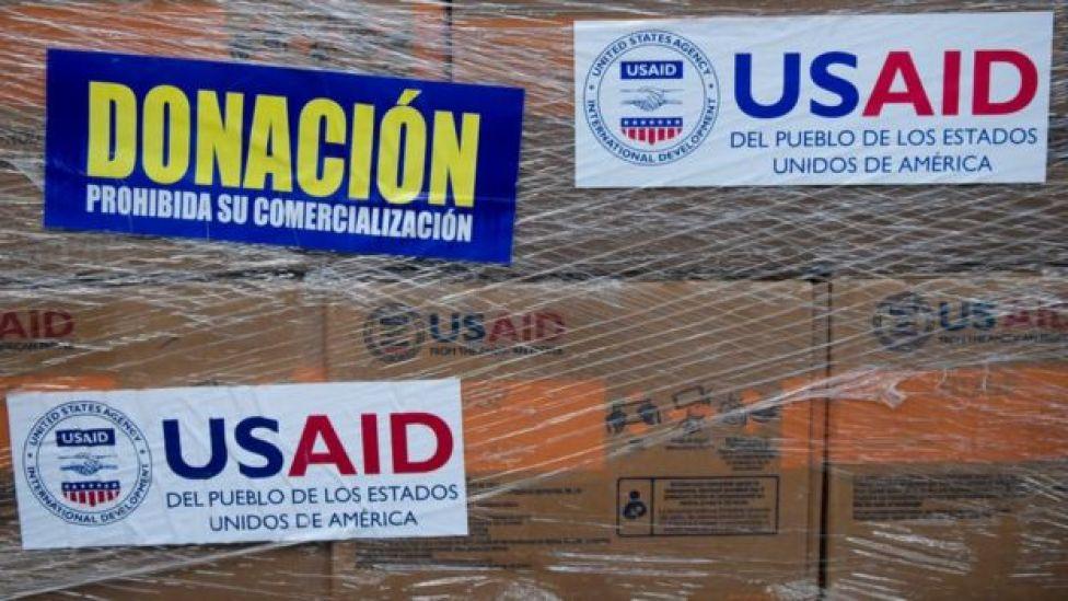 La mayor parte de la ayuda que recibirá la oposición fue donada por Estados Unidos.