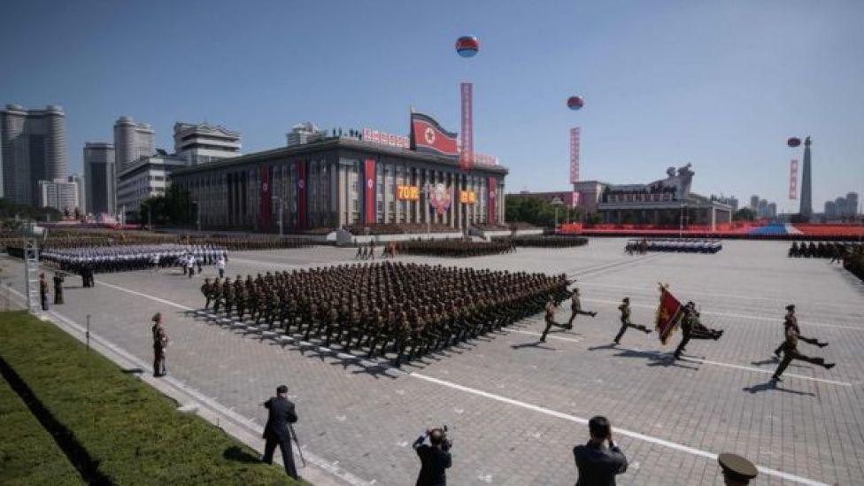 Parada militar de Corea del Norte del pasado 9 de septiembre.