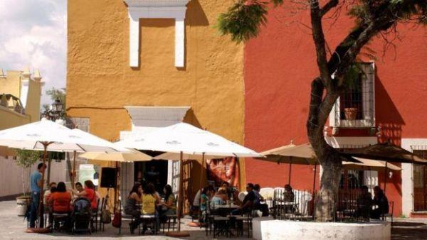 مقهى في مدينة مكسيكو سيتي