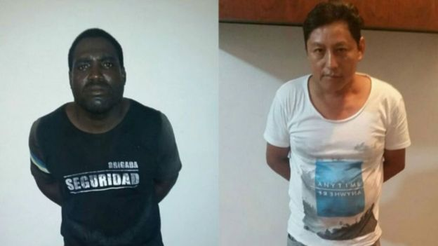 Aurelio Eduardo Rodríguez y Alberto Segundo Mina Ponce