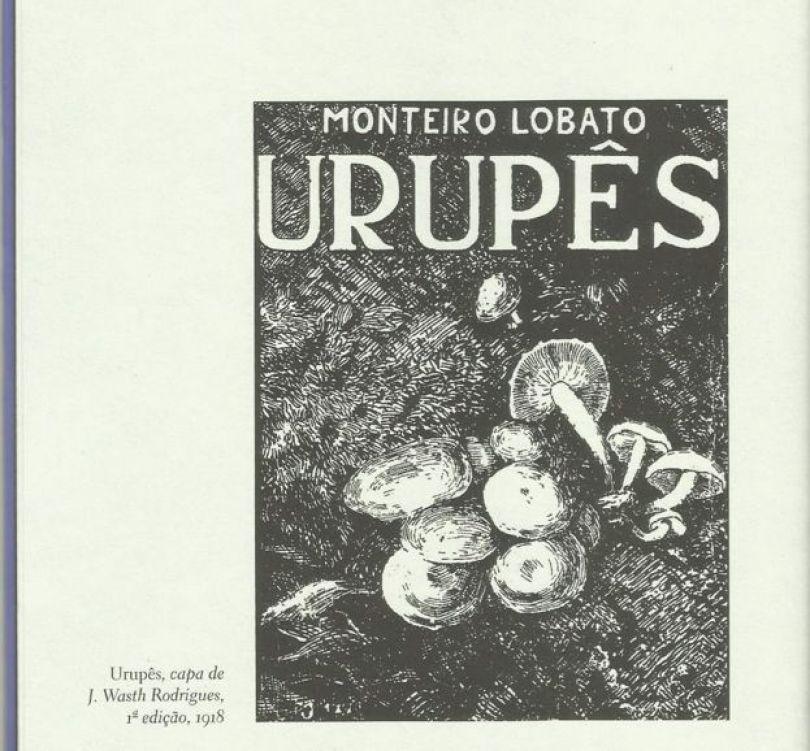 Capa original do livro Urupês
