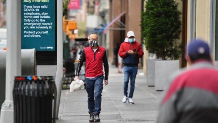 نيويورك خلال تفشي كورونا