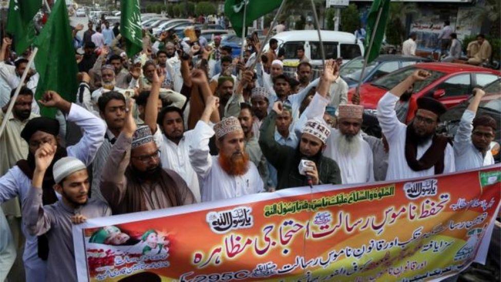 Grupo pede condenação de Asia Bibi em Lahore, no Paquistão