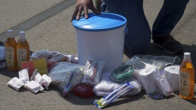 Productos de la ayuda humanitaria