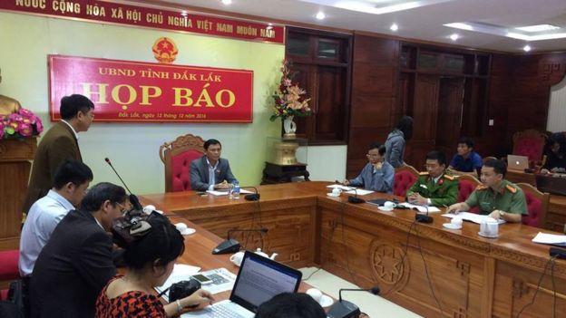 UBND Đắk Lắk tổ chức họp báo sáng 13/12