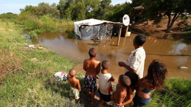 Inundaciones en la provincia del Chaco, Argentina