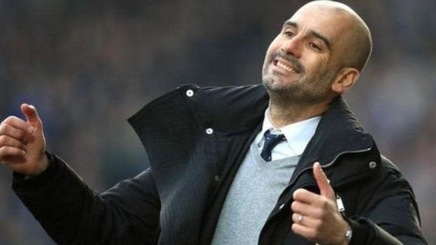 Pep Guardiola na Manchester City
