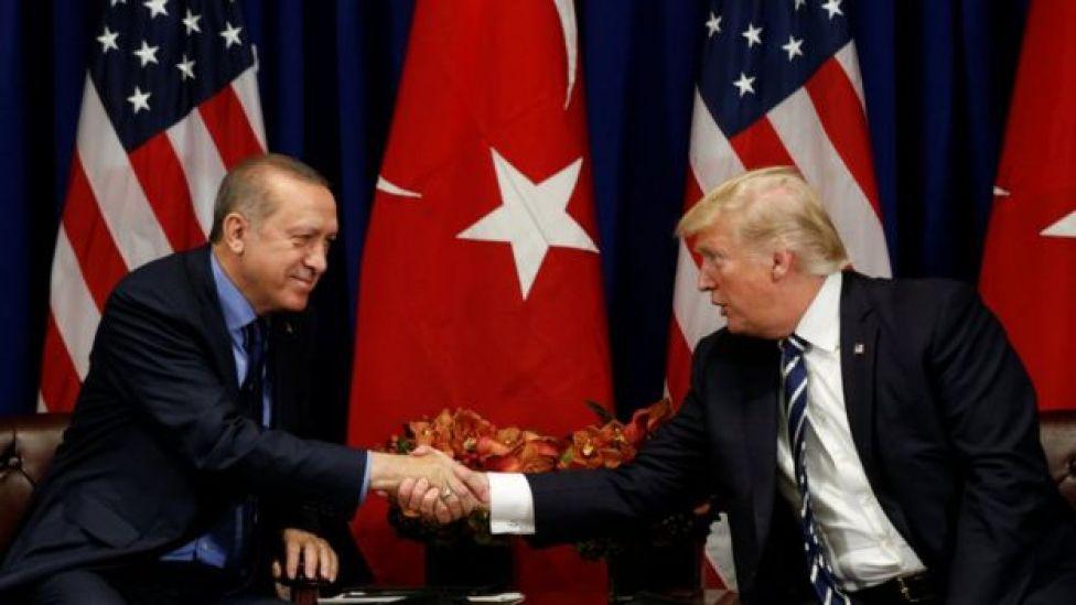 Erdogan y Trump