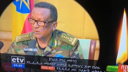 Chefe do Exército da Etiópia é morto a tiros em ataques de 'golpe'