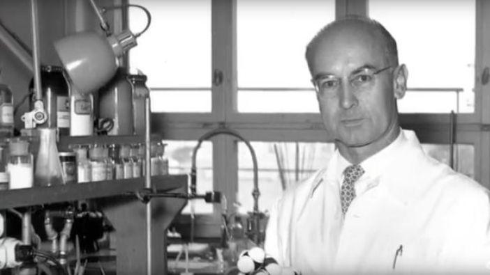 El químico suizo Albert Hofmann, que sintetizó el LSD en 1943.