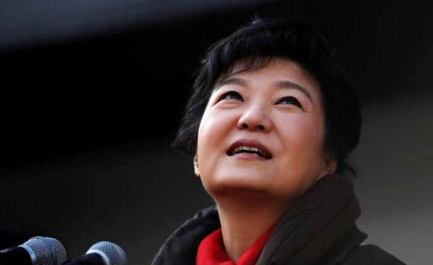 Ms Park has also lost her presidential immunity and can be prosecuted
