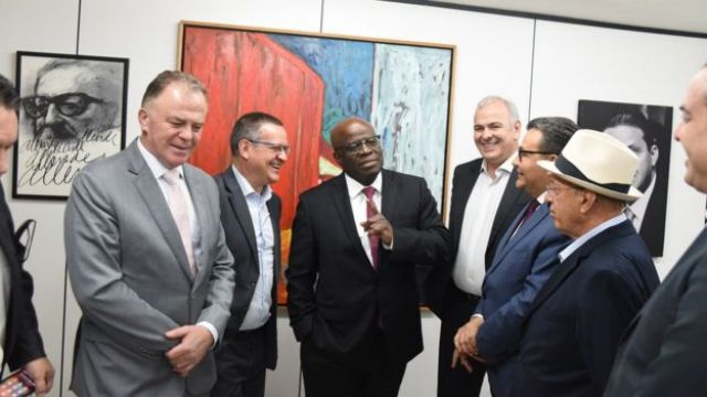 Joaquim Barbosa e políticos do PSB