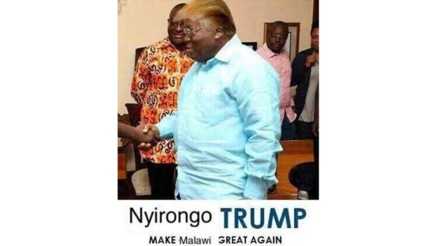 Nyirongo Trump meme