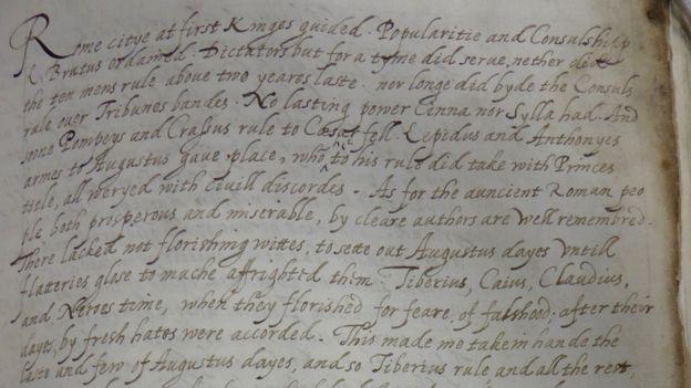 Манускрипт из библиотеки Ламбетского дворца в Лондоне