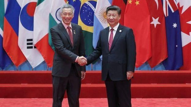 Các tranh chấp lãnh thổ ở biển Đông đã làm căng thẳng quan hệ Trung-Sing