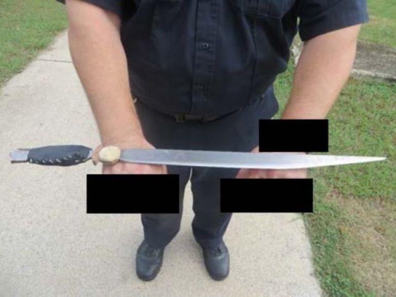 Un cuchillo encontrado en una prisión de Alabama