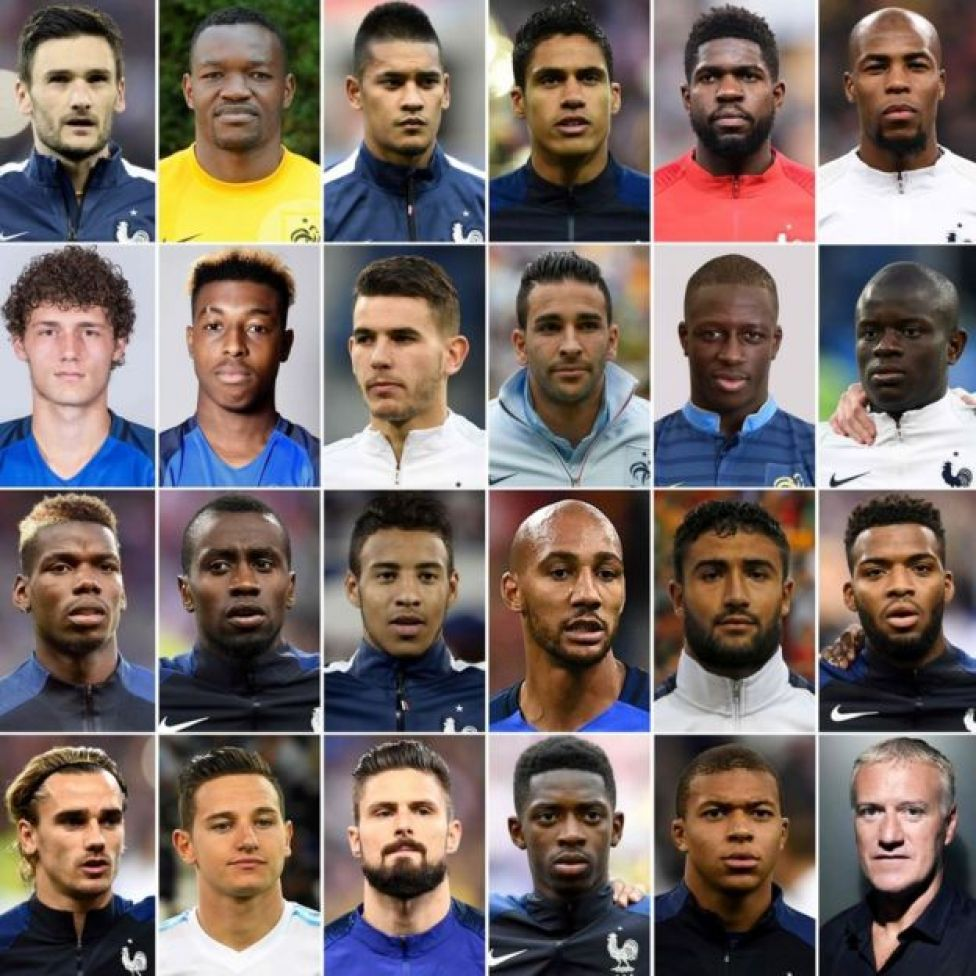 France's 2018 World Cup squad