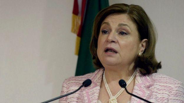 La procuradora Arely Gómez anunció la búsqueda del exgobernador Duarte.