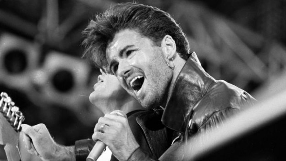George Michael in 1986