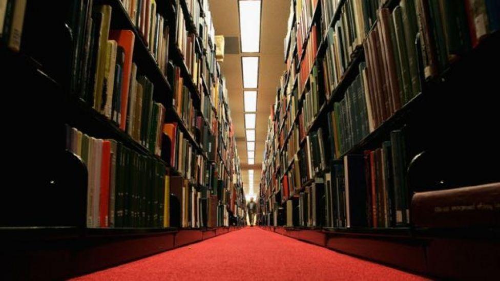 Stanford University kütüphanesi
