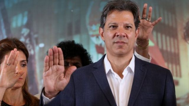Para tentar melhorar seu desempenho, Fernando Haddad se encontou com 200 líderes evangélicos em São Paulo