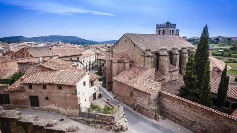 Cidadezinha de Mora de Rubielos, na Espanha