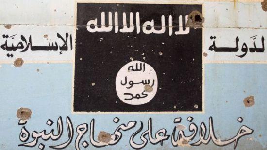 Havice yakınlarındaki bir IŞİD tabelası