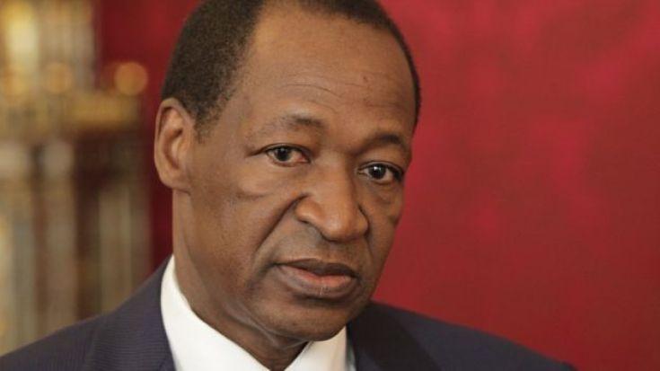 Blaise Compaoré, ancien président burkinabé