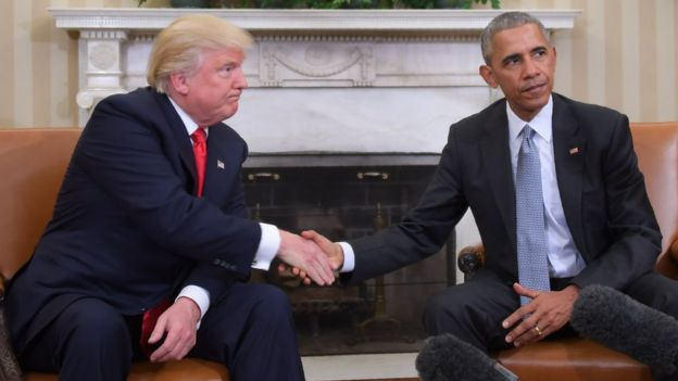 Chuyển giao từ Barack Obama sang Donald Trump