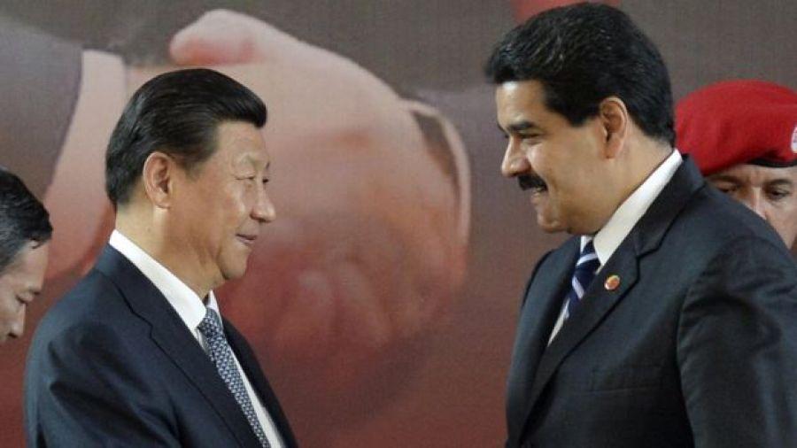 Maduro y Xi
