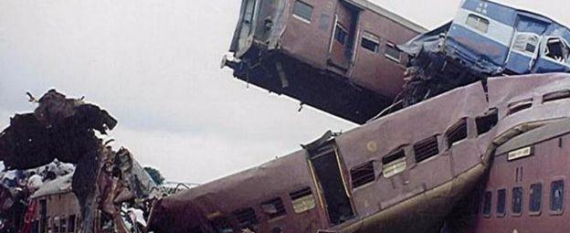 The Gaisal train crash in 1999