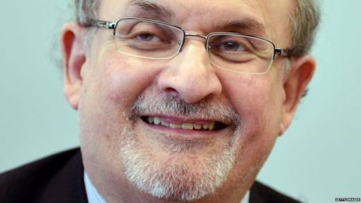 Author Salman Rushdie
