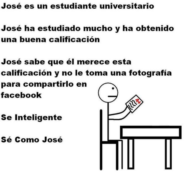 José, a stick man