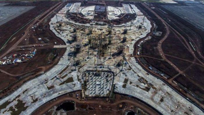 La obra del Nuevo Aeropuerto Internacional de México (NAIM), que fue suspendida