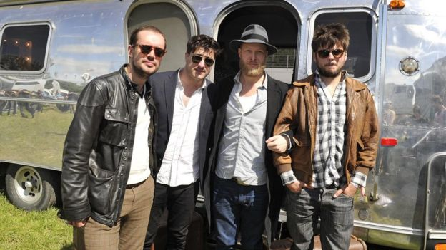 Mumford & Sons headlined Glastonbury Festival in 2013