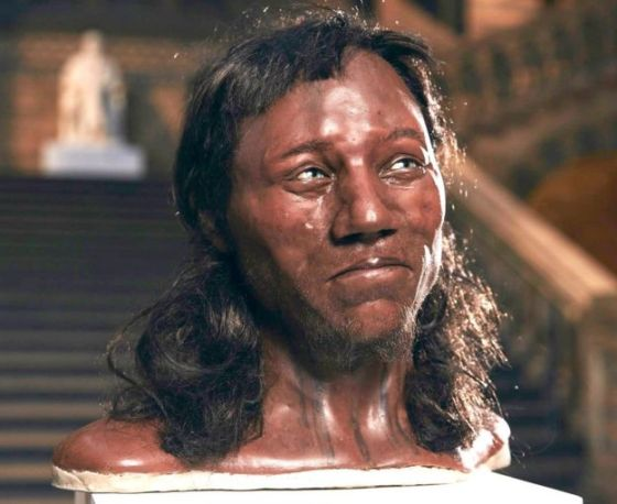 Cheddar Man reconstruction