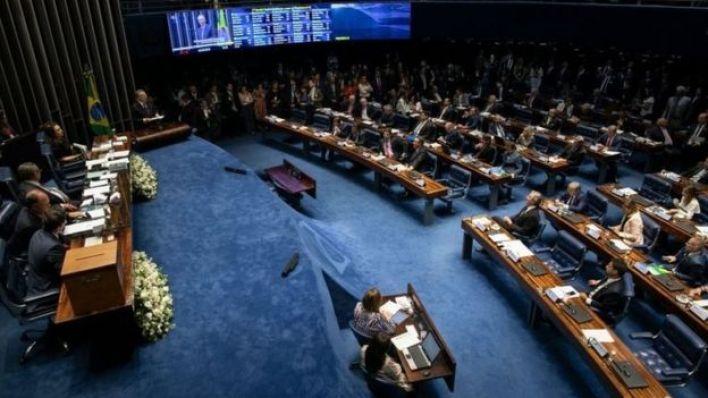 Plenário do Senado brasileiro