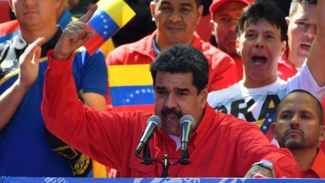 Nicolás Maduro, presidente de Venezuela aunque más de 50 países no lo reconocen
