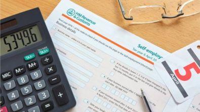 calculator and HMRC paper
