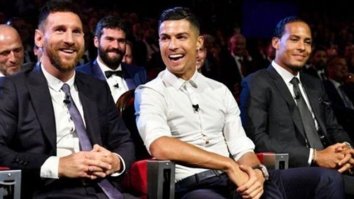 Messi, Ronaldo na Van Dijk