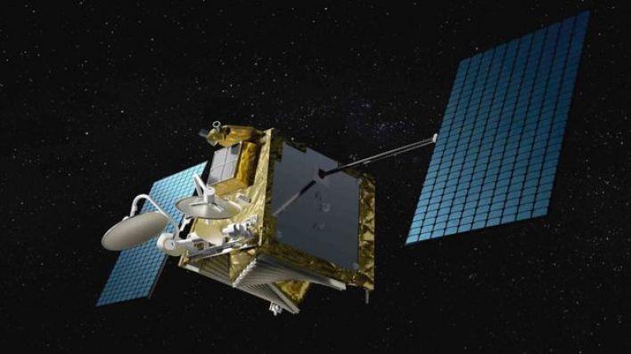 Ilustração de satélite artificial