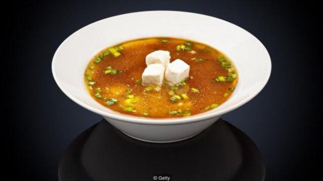 Sopa de missoshiru
