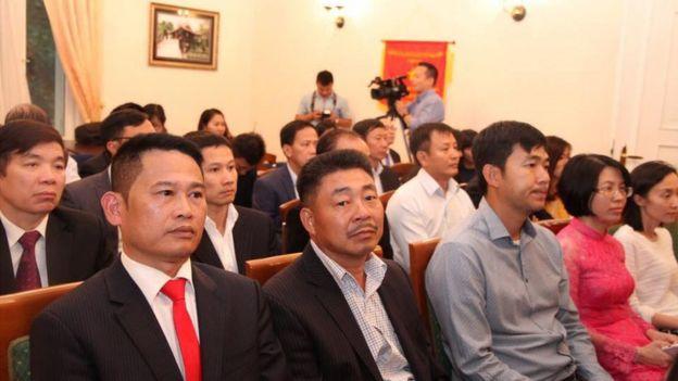 Quang cảnh Lễ kỷ niệm Quốc khánh Việt Nam do Sứ quán VN tại Đức tổ chức hôm 31/8/2017.