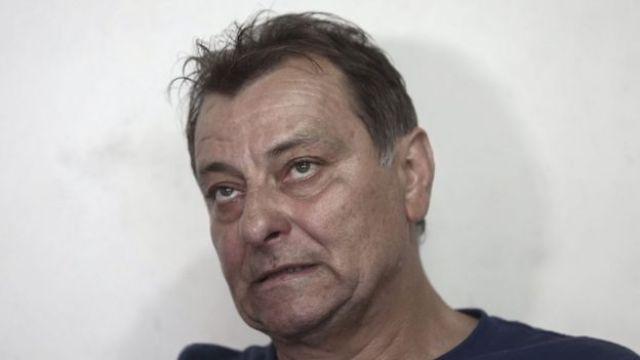 Battisti dá entrevista em foto de 2017