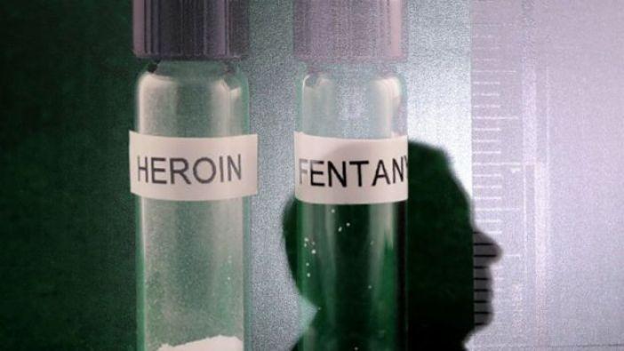 Muestras de heroína y fentanilo