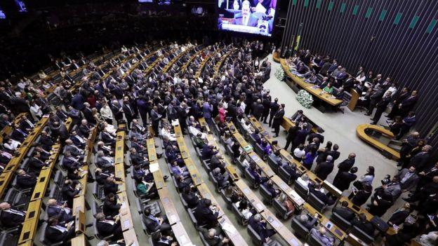 Inauguração da 56ª Legislatura na Câmara dos Deputados