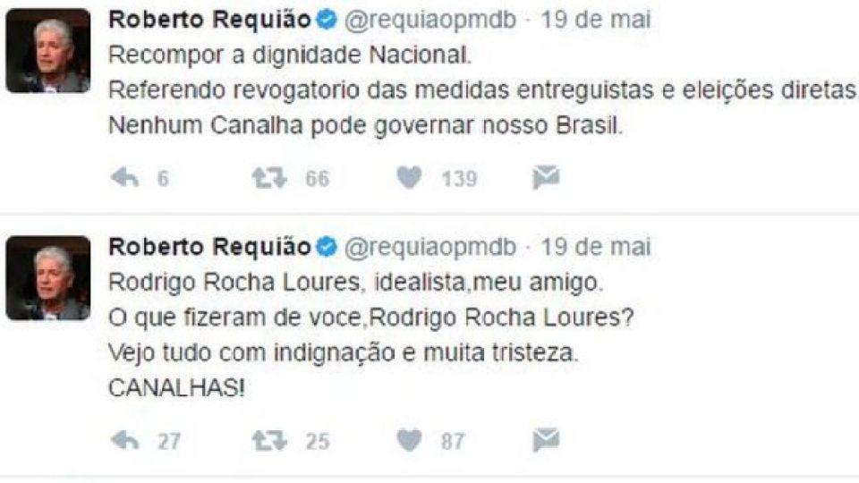 Twitter de Roberto Requião