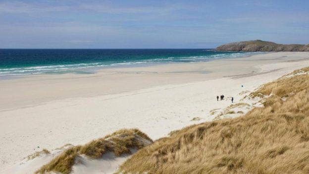 kitchen islands uk water hose for sink 苏格兰岛屿握着通往幸福的秘诀 bbc 英伦网 巴拉岛