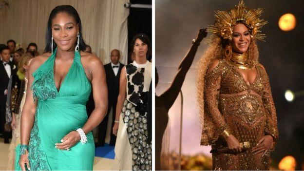 Des célébrités comme Serena Williams et Beyoncé ont mis en lumière les difficultés que traversent les femmes noires lors de la grossesse et de l'accouchement.